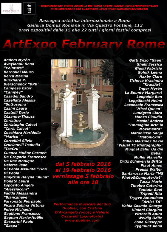ArtExpo February Rome